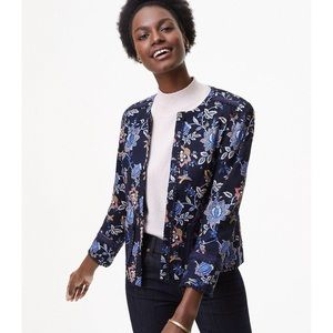 Loft Evening Garden Floral Bird Evening Blazer